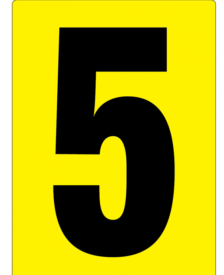item_415_Number_5_Sign