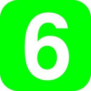 number-6-green-md